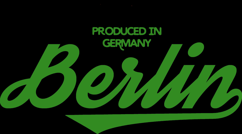Produced in Germany / Berlin